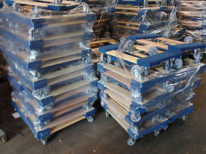 Set Of 50 Nk Furniture Movers Dolly Non marking 4 Tpr Wheels Local Pickup