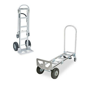 Heavy Duty Senior Aluminum 2 in 1 Convertible Hand Truck Local Pickup Only