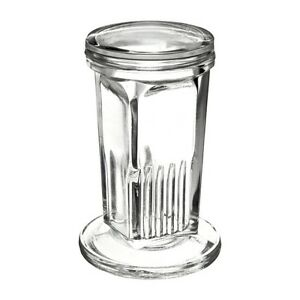 Wheaton Copling Glass Staining Jar With Glass Lid
