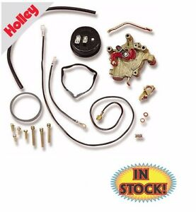 Holley 45 224 Electric Choke Kit With External Vacuum