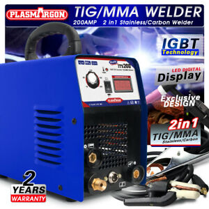 Tig mma Igbt Welding Machine 3 2mm Welding Rod 200a Welder accessories 110 220v