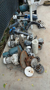 Conveyor Belt Parts Lot Include All Items In Photo For One Price