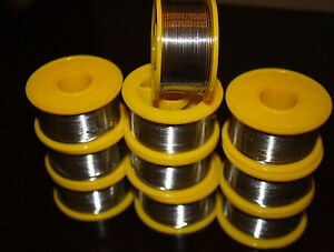 New 60 40 Tin lead Flux 2 8mm Tin Rosin Core Solder Wire 10 Rolls New