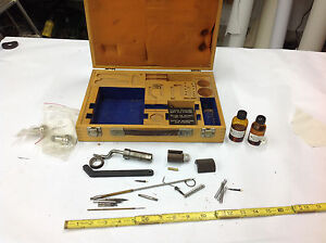 Dea Dae Torino M032001 Machinist Tooling Parts In Wood Box