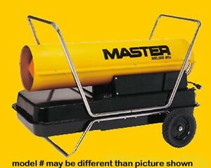 New Master B150f Kerosene Forced Air Heater