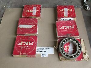 Lot Of 6 New Old Stock Skf 1215 Kj Taper Bore Roller Bearing