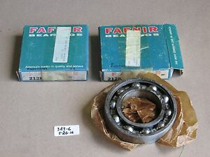 Lot Of 2 New In Box Fafnir Radial Deep Groove Ball Bearing 212k