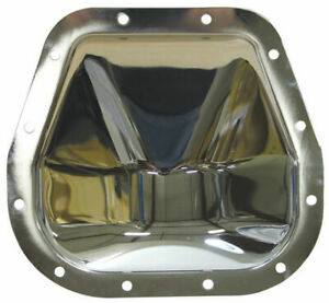 Chrome Steel Ford 12 Bolt 9 75 Rg Diff Differential Cover Truck F150 F250