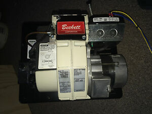 Beckett Oil Burner Mdl nx 40 1 10 Gph N01j052 Icp1503 120v 60hz150203