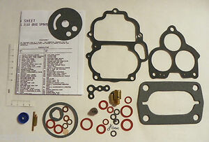 Holley 94 Carburetor Rebuild Kit Ford Model Aa 1 2100 Fuel Sys Repair Bugspray