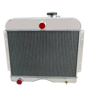 4 Row Aluminum Radiator For 1946 1964 Jeep Willys Station Wagon Pickup Truck