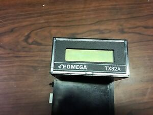 Omega Tx82a Current Loop Indicator Input Current 4 20ma 7 segment Lcd Display