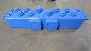 New No Name Multi Port Hydraulic Tank Reservoir 6 x6 x29 4 5 4 1 2 Gallon