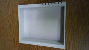 Solvent Holder Tray For Hplc With Tubing Organizer