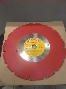 Rescue demolition Carbide Blades For Cut Off Saw Roofs railwayties nails 14 X1