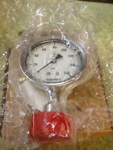 New Ashcroft Sanitary Pressure Gauge 35 1036 sd 15l 160 3 1 2 Stainless