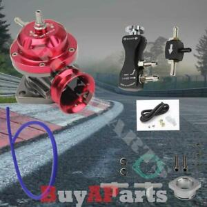 Red Turbo Type rs Bov Blow Off Valve Black Manual 1 30 Psi Boost Controller