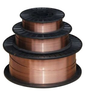 Er70s 6 030 Solid Mig Welding Wire 2 Each 11 Lb Spool