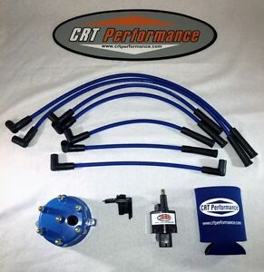 Jeep Cherokee 45k 4 0l Ignition Tune Up Kit Xj 1991 1993 Blue Cap Blue Wires