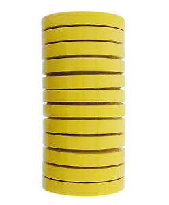 3m 06652 Crepe Paper Automotive Refinish Masking Tape 3 4 Inch 12 Rolls Yellow