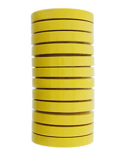 3m 06652 Crepe Paper Automotive Refinish Tape 3 4 Inch 12 Rolls Yellow