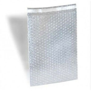 Self Seal Bubble Protective Bag Pouches 8x11 5 200 The Good Stuff