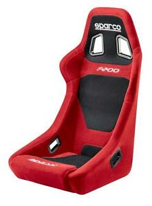 Sparco F200 Tuner Street Series Racing Seat Red