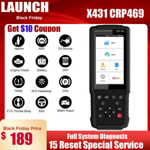 Launch X431 Wifi Update Obd2 Code Reader Scanner Tpms Sas Dpf Immo Bms Oil Reset