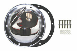 Chrome Steel Chevy Gm 10 Bolt Diff Differential Cover W Drain Plug A