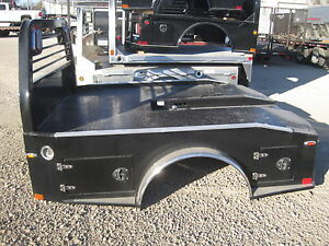 Cm Truck Bed Flatbed Hauler Body Er2 8 6 x97 56 ca 38 r Ford Dually 167824