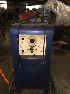 Miller Welder Model Sr 200 32 Arc Welder Dc Vintage 230 400vac 3ph