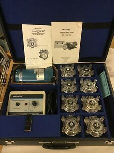 Cole Parmer Masterflex Peristaltic Pump System tested