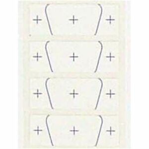 At 9 Adhesive Backed Templates For Mk 9p dsp 9p Panal Punch