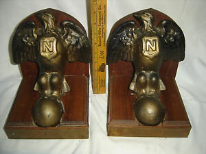 Antique 1900 S Private Casting Admiral S Tub Clawfoot Bookends Rare Make Offer