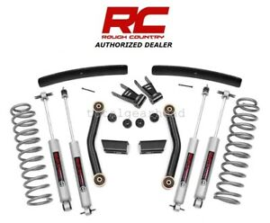 1986 93 Jeep Mj Comanche 4wd 4 5 Rough Country Suspension Lift Kit W n3 62630