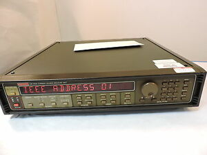 Keithley 238 High Current Source Measure Unit 90 Day Warranty