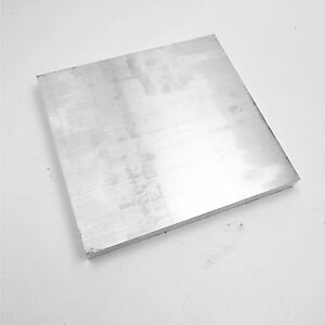 875 Thick 6061 Aluminum Flat Plate 9 5 X 10 Long Solid Flat Stock Sku122265