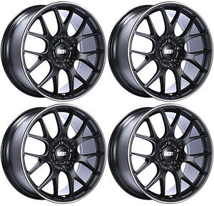 Bbs Ch R Wheels 19x9 5 5x120 35 35mm 35 Offset Chr106 Rims Satin Black