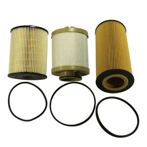 New Fl2016 Fd4617 For Ford 6 4l Powerstroke Diesel Engine Oil Fuel Filter