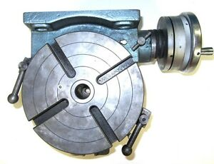 New Yuasa 550 048 8in Horizontal Vertical Rotary Table
