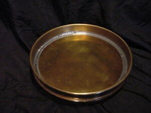 Standard Testing Sieve Collecting Catch Pan No Holes Collection 8 Fitter