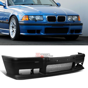 For 92 99 Bmw E36 3 series M3 M sport Style Front Bumper Grille Cover Body Kit