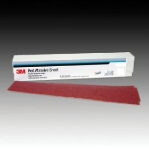 3m 01680 Red Abrasive Stikit Air File Sheet 40 Grit 25 Bx 3m 1680