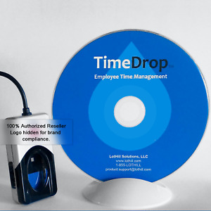 Time Clock Software Usb Biometric Fingerprint Scanner Reader Kit Timedrop