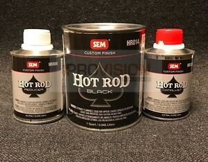 Sem Hr010 Hot Rod Black Kit Matte 2k 1 Step Process Sem Hr010