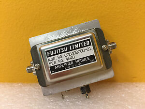 Fujitsu Ltd Cgb408000 01 4 To 8 Ghz 10 V Sma f Amplifier Module