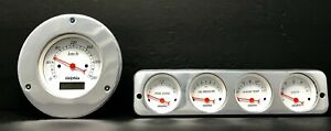 1942 1943 1944 1945 1946 1947 1948 Ford Car 5 Gauge Dash Panel Insert Set Metric