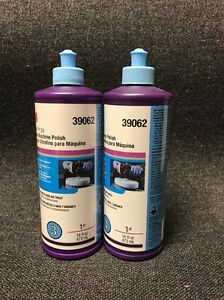 3m Perfect it 39062 Ultrafine Machine Polish 16oz 2 Bottles