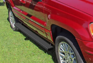 Iboard Running Boards 4 Matte Black Fit 99 04 Jeep Grand Cherokee 4dr
