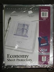 Avery 74097 Sheet Protectors 6 Packs 450 Count Acid Free Clear Top Loading
